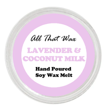 Load image into Gallery viewer, LAVENDER AND COCONUT MILK