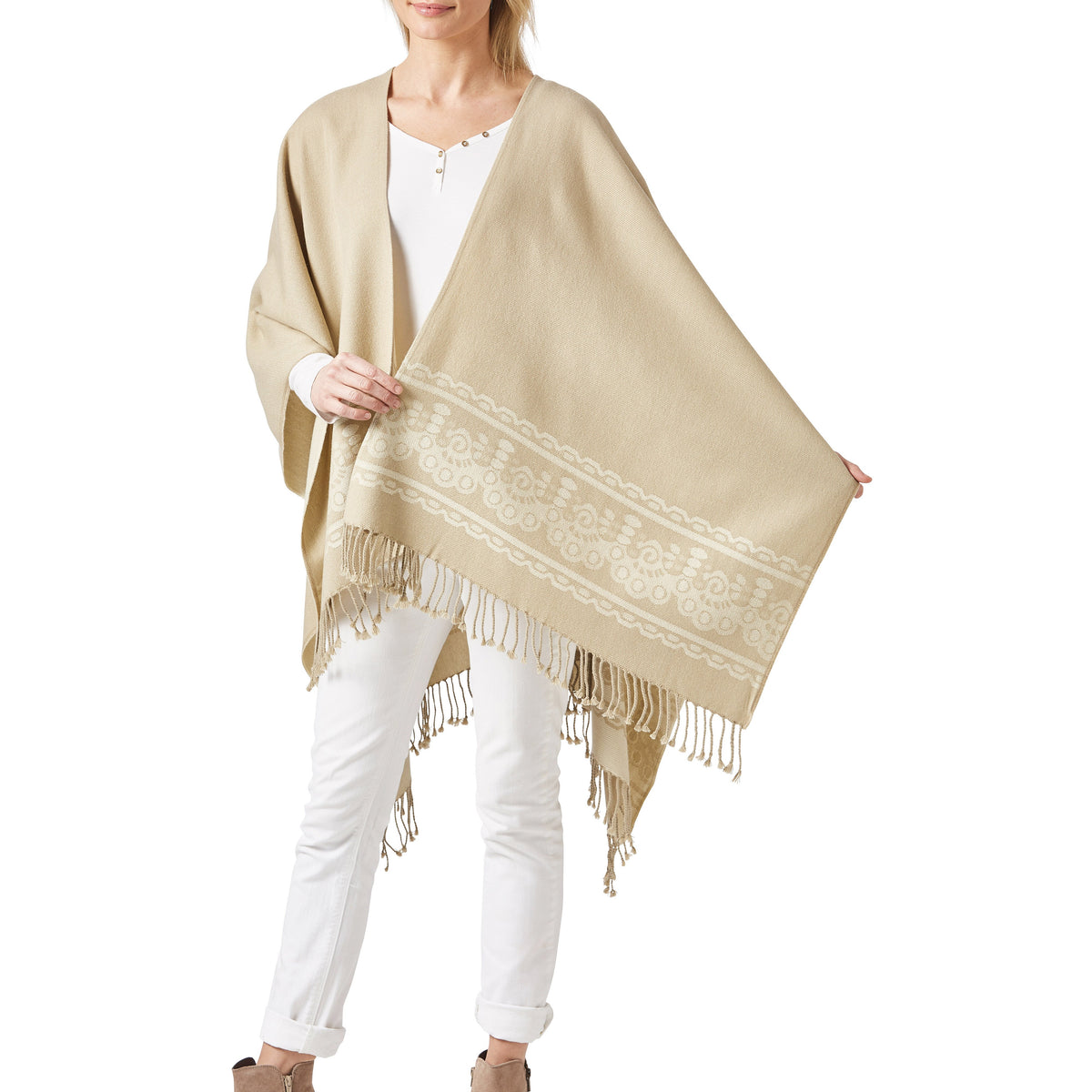 Women's Sand Shawl