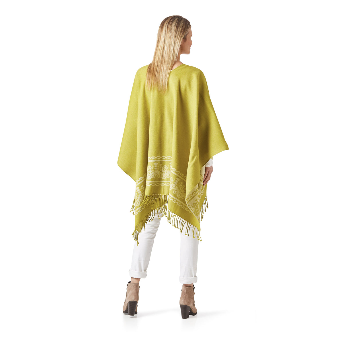 Women's Lime Shawl