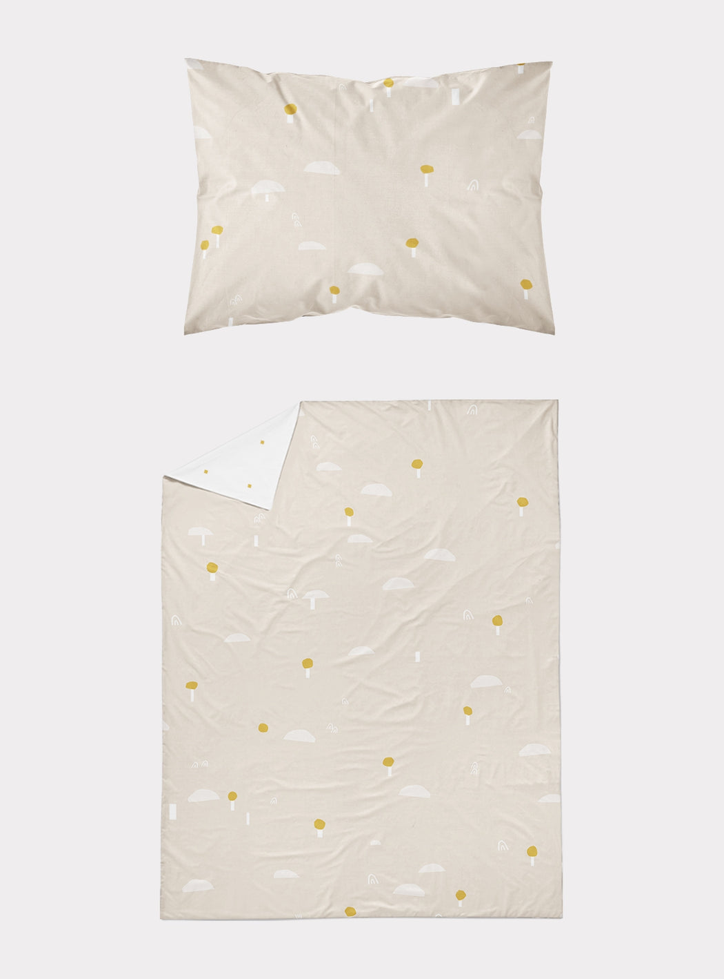 Set of Duvet cover + pillowcase Forest in Japan Arena (90 cm bed)