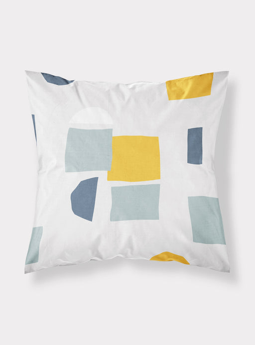 Forms decorative pillowcase 50 x 50 cms Mustard