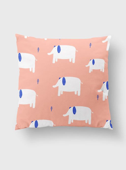 Elephant Pillowcase 45 x 45 cms