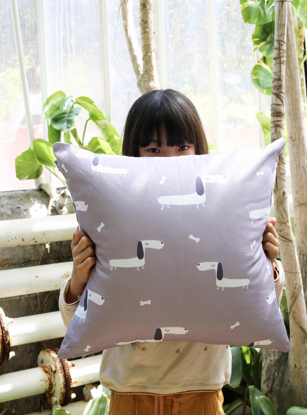 Momo decorative pillowcase 45 x 45 cms