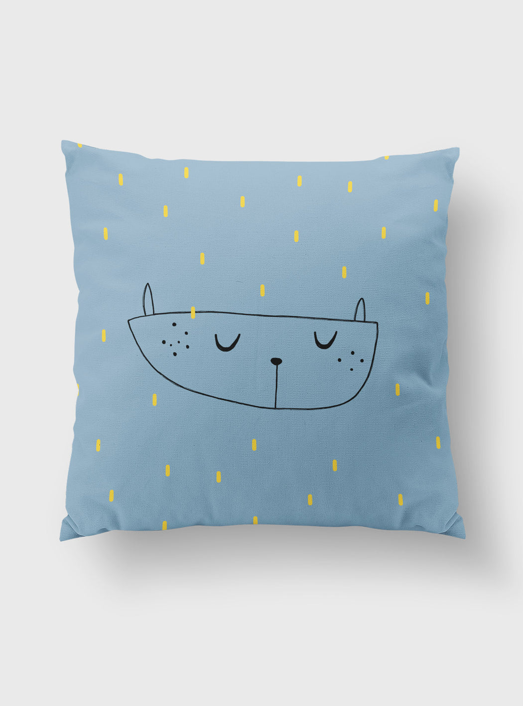 Rain decorative pillowcase 45 x 45 cms
