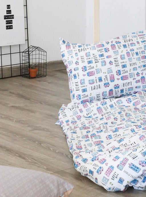 Set of Duvet cover + pillowcase  Happy Home (90 cm bed)