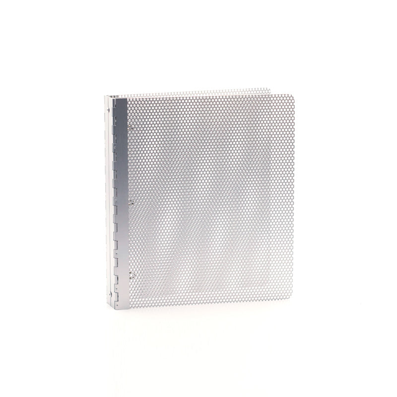 Perforated Aluminum 3-Ring Binders