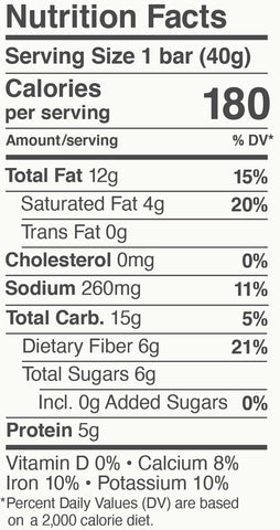 CL Nutrition Facts