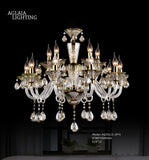 Hawthorn Purple-gold Crystal Chandelier - AQ-20112-6
