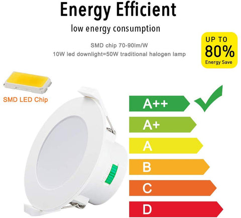 Dimmable Downlight 10W / 3 YearsWarranties - 90mm cutout - Convience Downlight -