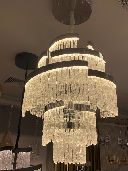 Hand Made Glass / Round Downward - Aglaia lighting