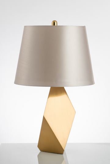 Reed Brass Floor Lamp