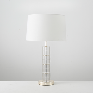 Polished Gold Crystal Contempory Table Lamp