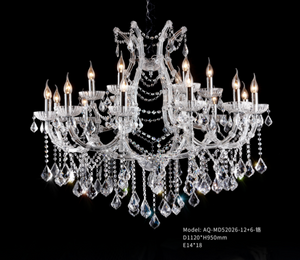 Crystal Chandelier - 52026-12+6