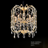 Golden Age Crystal Chandelier - AQ50066 - Aglaia lighting