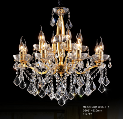 Golden Age Crystal Chandelier - AQ50066