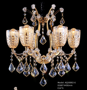 Phnom Penh Crystal Chandelier - AQ-50082 - Aglaia lighting