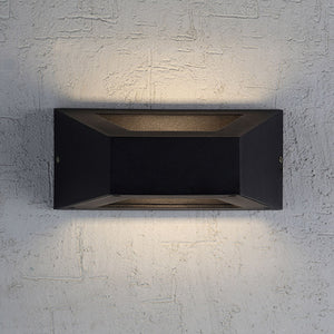 Modern Upward * Downward outdoor Wall fitting - 16001B - Aglaia lighting