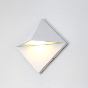 Quadrilateral Downward Outdoor wallfitting/LED 2nd - 16012B