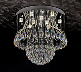Crystal Fountain Chandelier