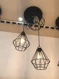 3 Net Loft Pendant Combination - Aglaia lighting
