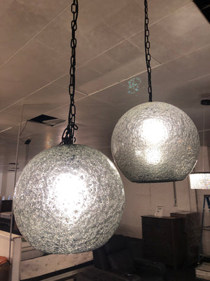 Moon Surface Glass Pendent - Aglaia lighting