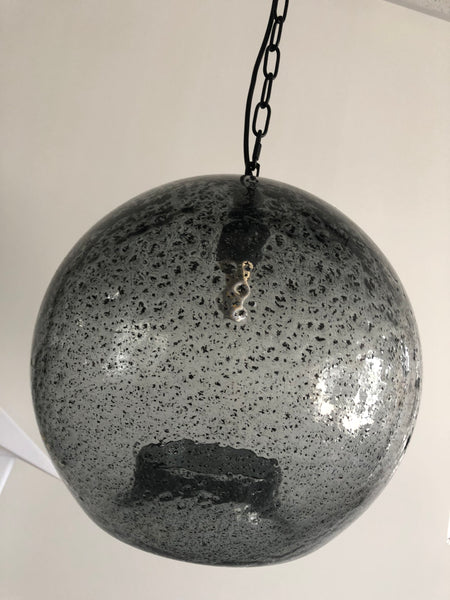 Moon Surface Glass Pendent