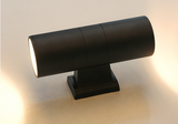 Matt Black Metal Outdoor Up and Down Wall Light 7.5W LED 5 Years Warranties - Aglaia lighting