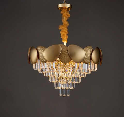 Shell - Contemporary Chandelier - Aglaia lighting