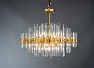 Victorian - Contemporary Chandelier - Aglaia lighting