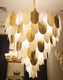 Gold Leafs - 2020 Best contemporary chandelier