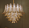Gold sleeve - Gold Colour Crystal Chandelier