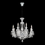 Preview Baroque Chrome Crystal Chandelier