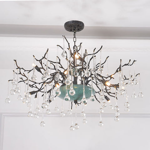 Twilight Brass Chandelier