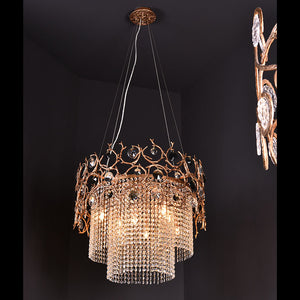 Diamond Crystal Chandelier