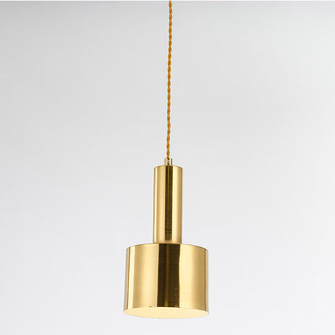 Simplisim Gold Polished Pendant - LH6013 - Aglaia lighting