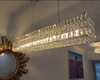 1899's Surrounded crystal chandelier Long size crystal chandelier