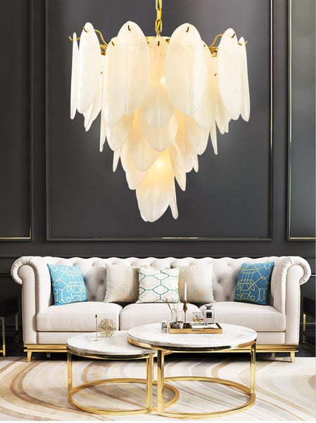 Post-modern light luxury crystal personality living room lamp dining room lamp bedroom lamp Nordic villa hotel creative chandeliers lamps - Aglaia lighting