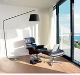 NORDIC SIMPLISM BLACK FINISHING FLOOR LAMP - Aglaia lighting