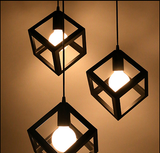 BLACK DICE COMBINATION PENDANTS - COUNTRY STYLE - Aglaia lighting