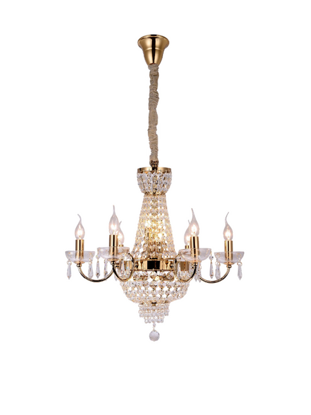 French Provincial Chandelier - LA-50088 - Aglaia lighting
