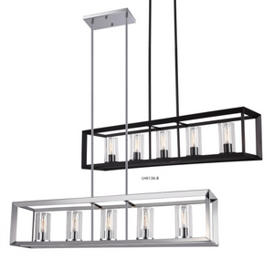 Modern Bench Top Chandelier