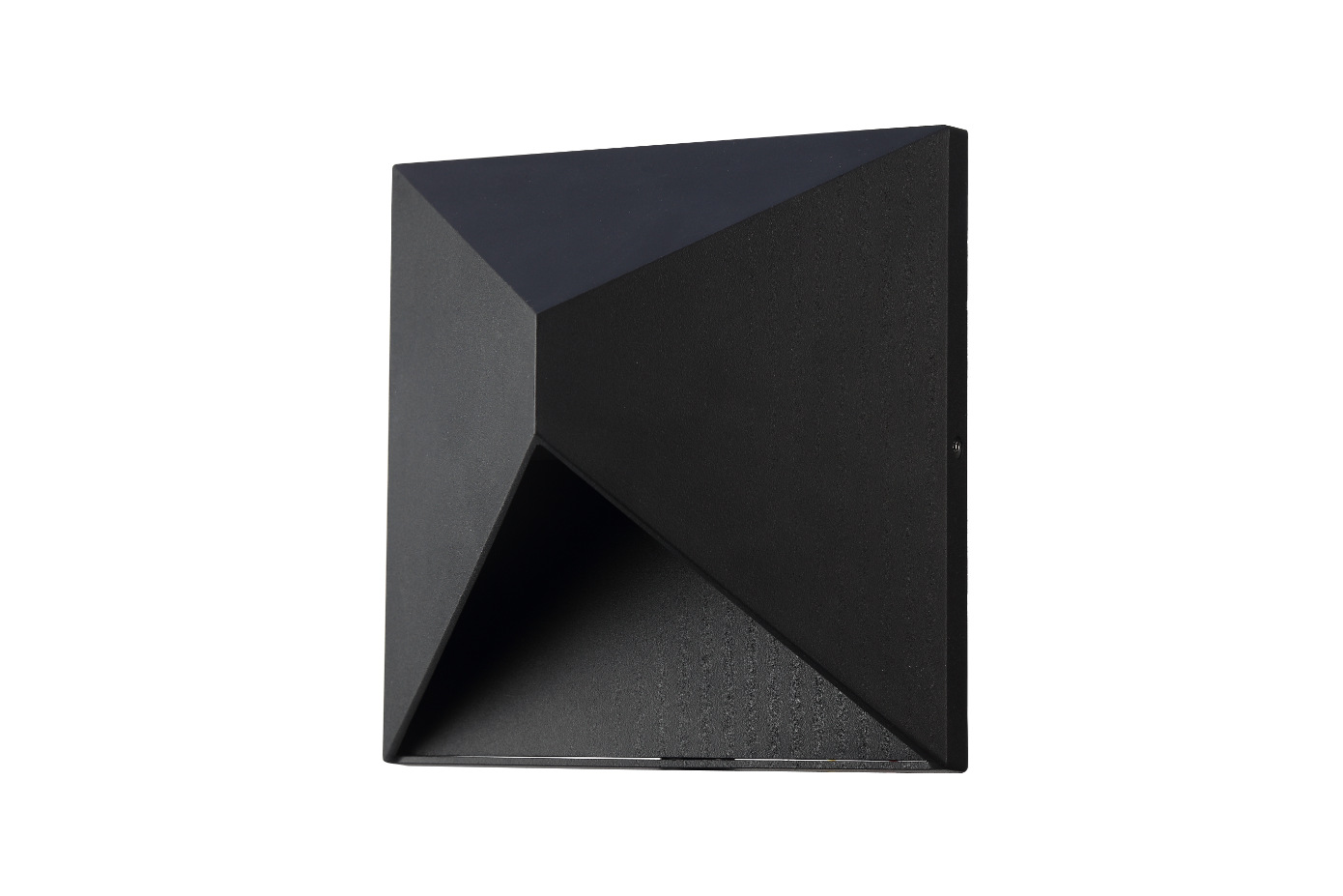 Quadrilateral Downward Outdoor wallfitting/LED - 16006B
