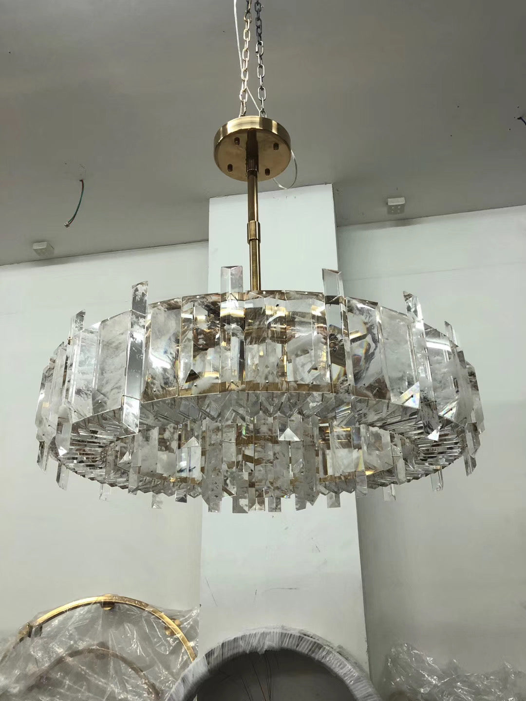 Nature Crytal Chandelier