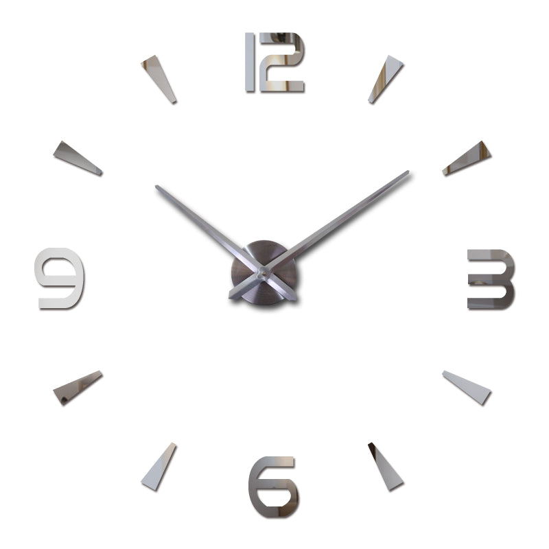 2018 New Wall Clock  watch -With Pared Modern Large design