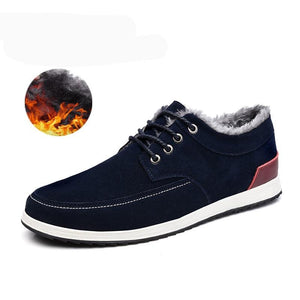 Men's Leather Shoes - Winter New Fashion