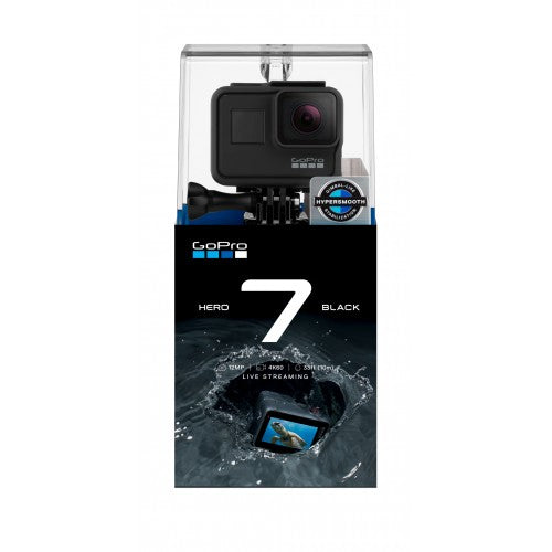 GoPro HERO7 Black 4K Action Camera with Rechargeable Battery AABAT-001-AS - SmartX Direct
