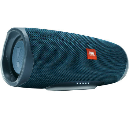 JBL Charge 4 Waterproof Portable Bluetooth Speaker with Portable Travel Case (Black) - Blue - SmartX Direct