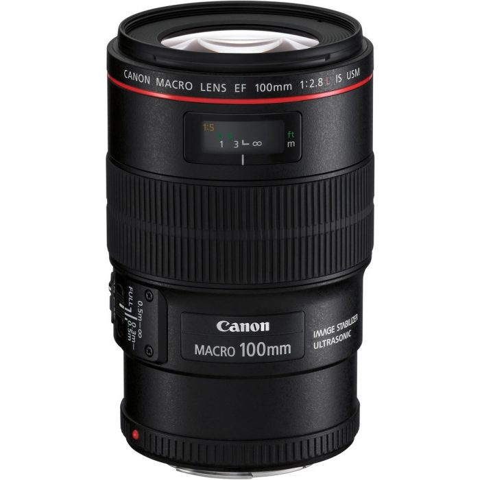 Canon EF 100mm f/2.8L Macro IS USM Lenses - SmartX Direct