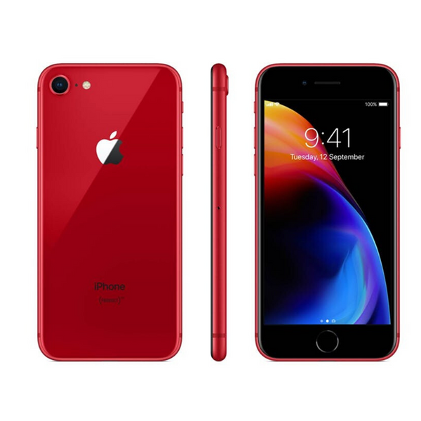 SIM Free iPhone 8 64GB Mobile Phone - (PRODUCT) RED - New Opened Box