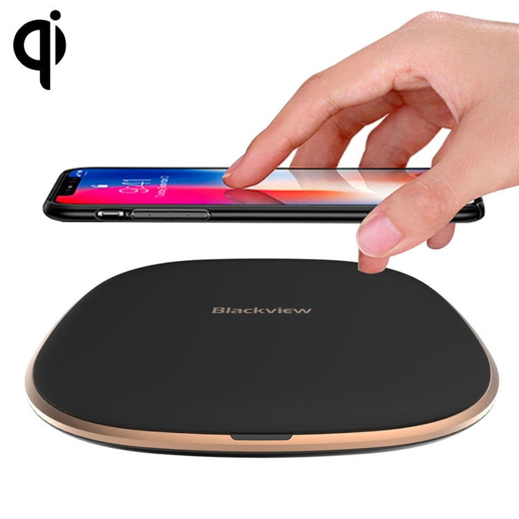 Blackview W1 Simple Round Metal 10W Max Qi Wireless Charger Pad - SmartX Direct